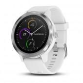 Часы Garmin vivoactive 3 E. EU White/White Silicone Stainless Steel
