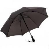 Зонт Light Trek Black механический складной черный (вес 255 гр, длина в сложенном сост. 28 см.)