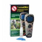 Прибор противомоскитный Thermacell (цвет камуфляжный, состав: прибор + 1 газовый картридж + 3 пластины)