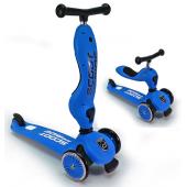 Детский трехколесный самокат с сиденьем Scoot&Ride HighwayKick 1 (Seat) (синий)