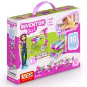 Конструктор Engino: Набор из 10 моделей, серия INVENTOR GIRLS