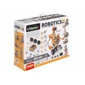 Конструктор Engino: ROBOTICS ERP PRO EDITION with BT (включая ПО, 3 мотора, 2 ИК-датчика, 1 датчик касания, 6 светодиодов), серия DISCOVERING STEM