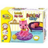 """Игровой набор для творчества Angel Clay """"Lovely My Cat"""""""